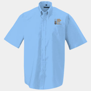 Short Sleeved Easy Care Oxford Shirt Thumbnail